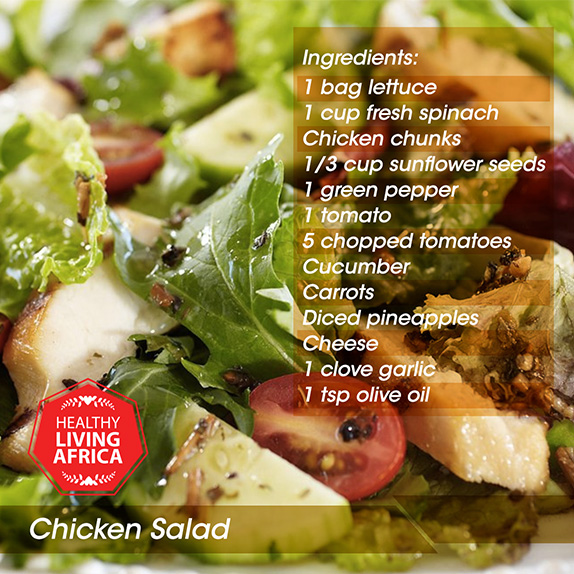 Chicken salad a balanced meal should contain as many of the five food groups as possible try out this chicken salad recipe that is healthy easy to make and with a side forumfinder Gallery