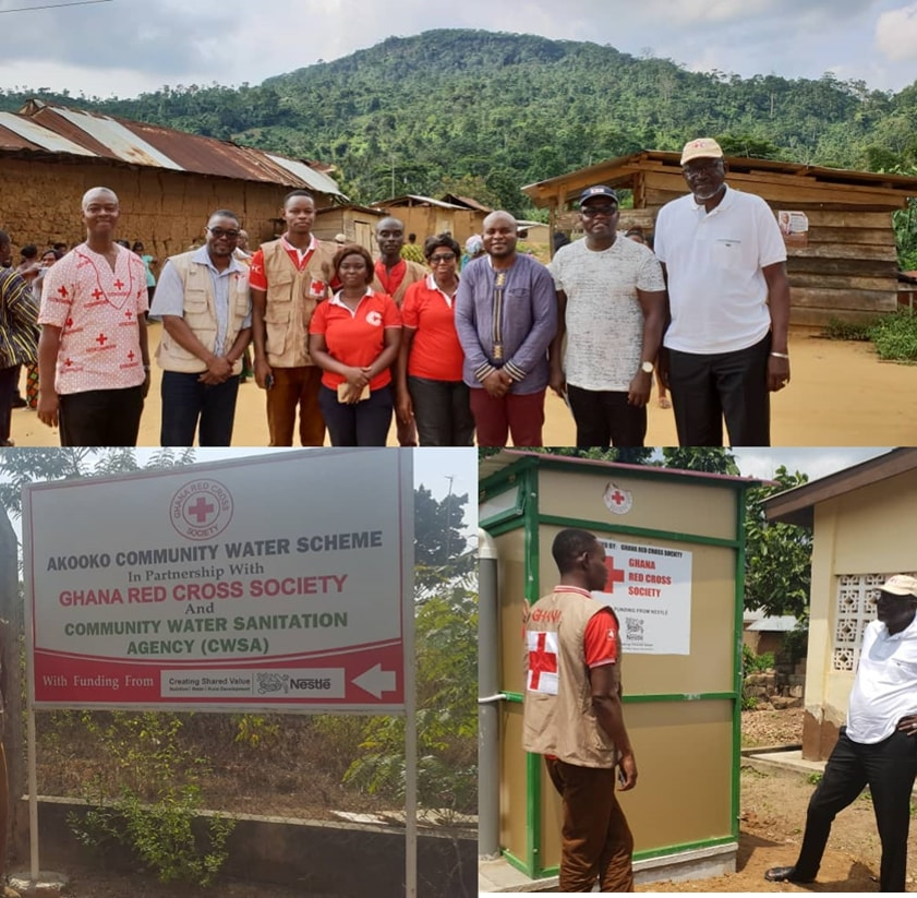 Nestlé and IFRC provide rural communities with WASH