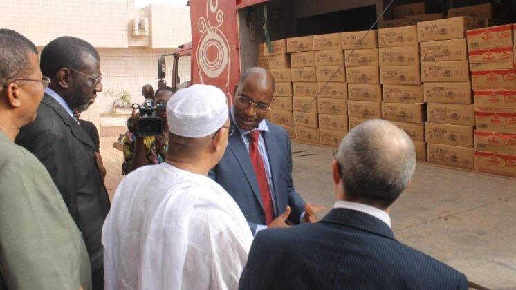 Nestlé Donates Food Items to Malian Government