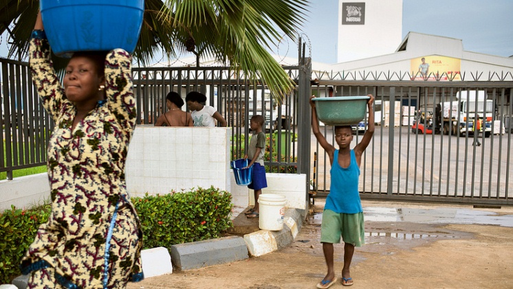Nestlé tackling water issues in Central and West Africa