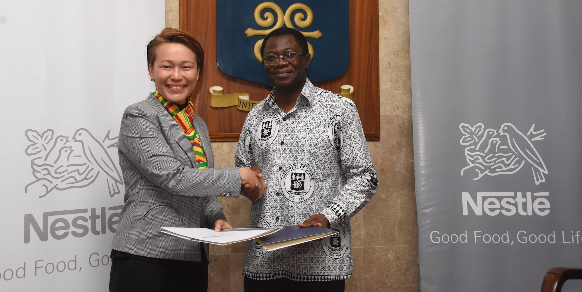 Nestlé And The University Of Ghana